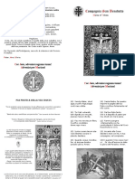 Via Crucis - schema