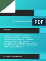 Mediacion y Cultura