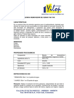 FICHA TECNICA REMOVEDOR DE CERAS TAK TAX-2015