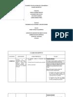 Cuadro Descriptivo Fundamentos de Economia