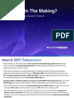Kraken's March 2021 Market Recap and Outlook