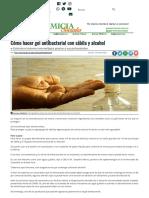 Cómo hacer gel antibacterial con sábila y alcohol - Diario Primicia