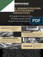 infografia administracion educativa