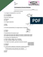 Guía Evaluada de Ciencias Naturales