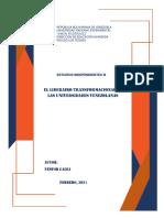 ACTIVIDAD 4 El Liderazgo Transformacional en Las Universidades Venezolanas