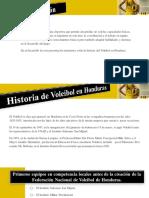 Historia del Voleibol en Honduras