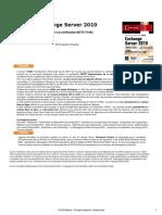 Exchange Server 2010 Préparation à La Certification MCTS 70-662