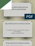 Estudio suicidio