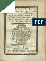 Catálogo Dos Livros Proibidos