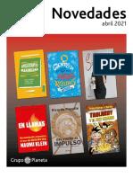 Boletín novedades abril 2021 UY