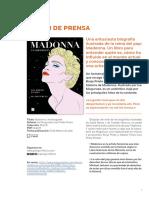Dosier de prensa Madonna.Una biografía