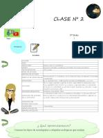 Clase IVº M ciencias para la cuidadania