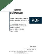 1. MEMORIAS MURO No. 4