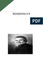 BIOGRAFÍAS 6A