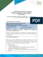 Guia de actividades y Rúbrica de evaluación - Unidad 2 - Fase 4 - Propuesta para un Estilo de Vida Saludable