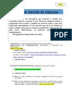 ROTEIRO DE HISTÓRIA-