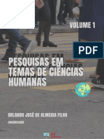PESQUISAS EM TEMAS DE CIÊNCIAS HUMANAS - VOLUME 1