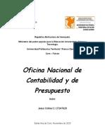 Oficina Nacional de Contabilidad y de Presupuesto