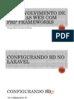 Desenvolvimento de sistemas web com PHP Frameworks - Aula 4_ORIGINAL