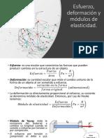 Esfuerzo, deformación y módulos de elasticidad (1)