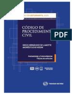 Codigo de Procedimiento Civil 2020 - Hernandez