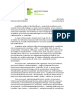 PROVA N1 (part.2) - ESTRUTURA E POLÍTICA EDUCACIONAL