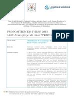 Avant-Projet-de-These-ED05_2iE-2015