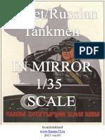 Soviet Russian Tankmen in Mirror Scale 1/35 Ver 01 (3)