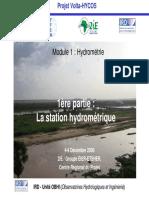 Formation Hydrometrie