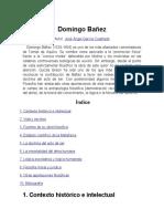 Domingo Bañez- Simon de Beabour