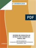 1 Manual do CNIS
