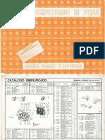 Catálogo Simplificado de Peças Brasília, Variant e Tl 2 e 4 Portas