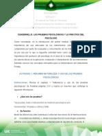 ACT 1 2_Aguilar Beltran CUADERNILLO V2 Act 1.2 Cuadernillo Las Pruebas Psicológicas y la práctica del psicólogo
