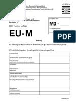 Approbationsantrag Mit Einer EU-EWR Ausbildung in Medizin_0