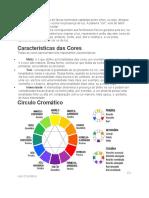 caracteristica das cores