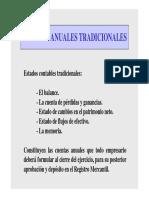 1. Presentación de estados contables