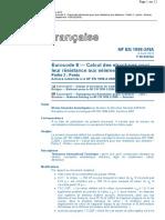 NF P06-032 NA (EC8 partie 2 - Ponts - Annexe Nationale) Conception et dimensionnement des structures pour leur résistance aux séismes
