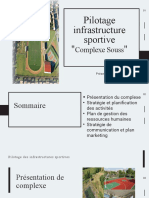 Pilotage Infrastructure Sportive _Complexe Souss