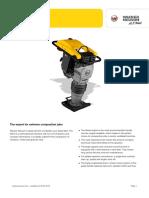 WN DS70 Diesel Vibratory Rammer