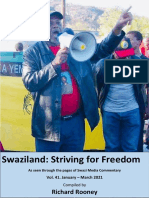 Swaziland Striving for Freedom Vol 41 Jan to Mar 2021