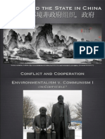 Environmental NGOs and the state in China