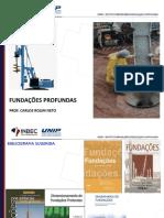 FUNDAÇÕES PROFUNDAS - 01