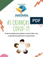 As crianças e a COVID19