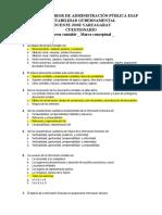 Cuestionario Contabilidad Gubernamental ESAP resuelto
