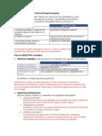 Parametros para Redactar Titulo y Objetovos