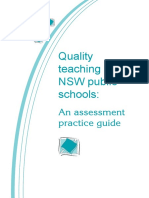 QT in NSW Public Schools- An Assessment Guide 2006