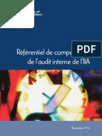 2013 Referentiel-competences-Audit Interne The IIA