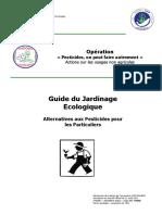 Guide Du Jardinage Ecologique Alternatives Aux Pesticides Pour Les Particuliers