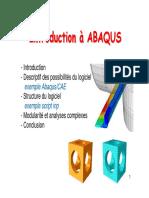 Plasticite abaqus M1