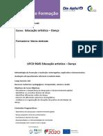 Manual de Formação Die Apfel -UFCD 9645 Dança (Wania Andrade)